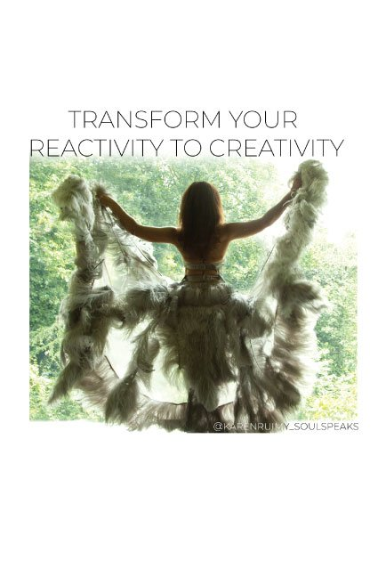 REACTIVITY V. CREATIVITY